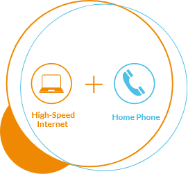 High-Speed Internet + Home Phone